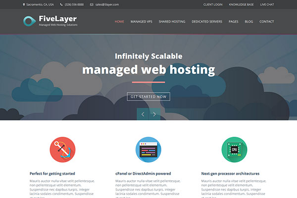 Web Hosting Templates 2014 - Designer Resource