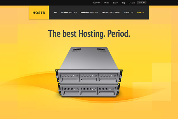 Hostr - HTML5 - CSS3 Hosting Template