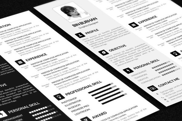Free resume template 05