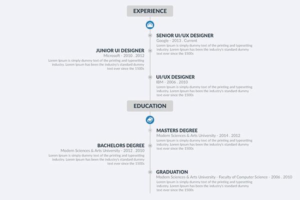 Free Resume template 14