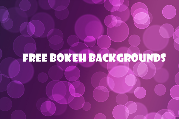 10 Free Bokeh Backgrounds - Freebie
