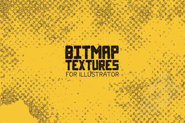 Bitmap Texture Pack for Illustrator