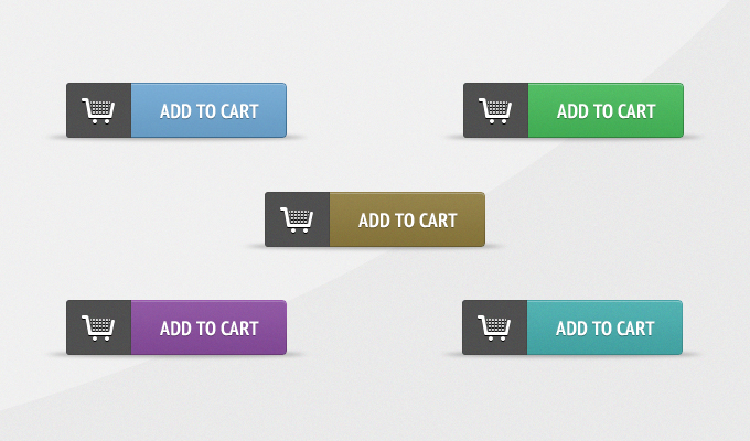 Free Add-to-Cart Buttons PSD