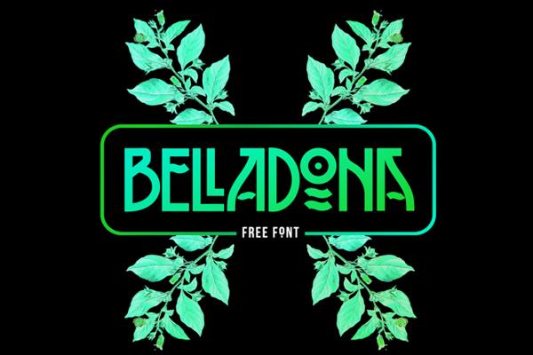 Belladona Font- Free Download