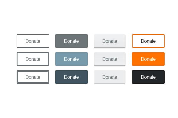 Minimal Web Buttons — Psd