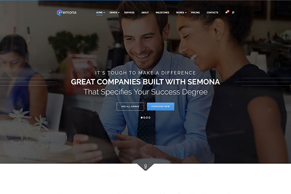 Corporate PSD Template