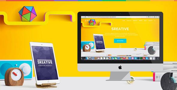 Creative HTML Template